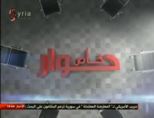 Syria TV full interview with Mr. Potgieter & Ms Joffe